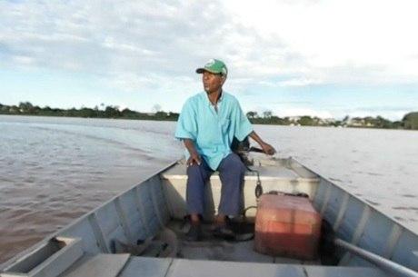 Moranga vive em Pirapora como pescador há 40 anos