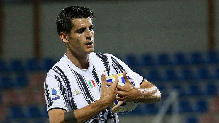 Morata é o artilheiro espanhol com seis gols, deixando o atacante da Juventus como um dos destaques do país.