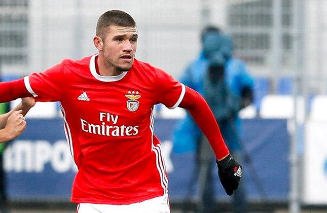 Morato - Time: Benfica (Portugal) - Posição: Zagueiro - Idade: 20 anos - Contrato até: 30/06/2024