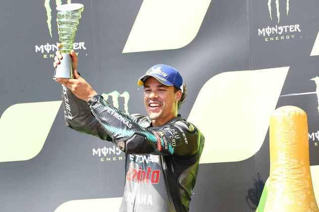 Morbidelli alcançou seu primeiro pódio na MotoGP