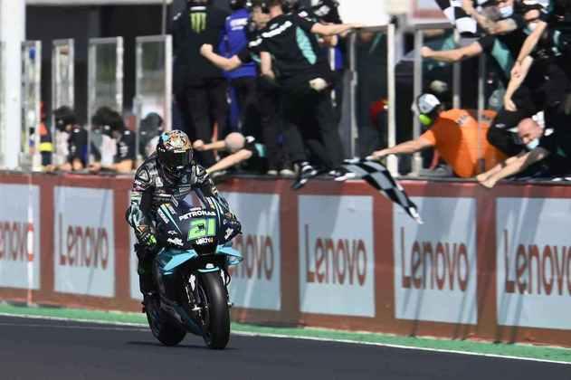 Morbidelli conseguiu a primeira vitória na MotoGP