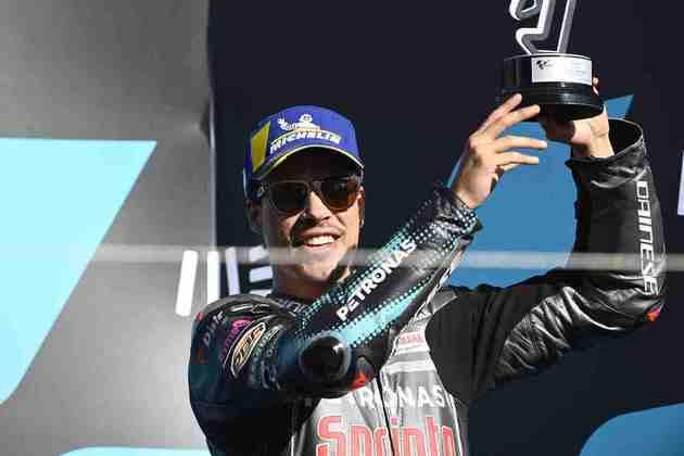 Morbidelli terminou o dia em terceiro e garantiu o vice