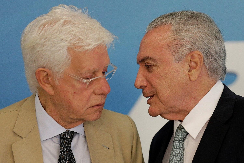 Moraes anula decisão que tornou réus Temer e Moreira Franco