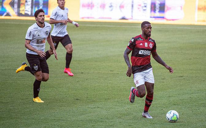 """MORNO - Ainda de acordo com """"A Bola"""", a proposta ao Flamengo por Bruno Henrique não será a única. O time da capital lusitana deseja levar também o meio-campista Gerson junto com o camisa 27."""