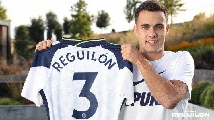 """MORNO: Após seis semanas de sua transferência para o Tottenham, o lateral esquerdo Sergio Reguilón não descartou o retorno para o Real Madrid no futuro. Em declarações ao programa """"El Larguero"""", o espanhol declarou gratidão ao clube merengue. Ele tem contrato com os ingleses até 2025."""