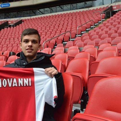 MORNO - Cria do Santos, o meia Giovanni Manson assinou seu primeiro contrato com o Ajax, e afirmou, em entrevista ao LANCE!, que preferiu o clube holandês pelo projeto e tamanho do clube.