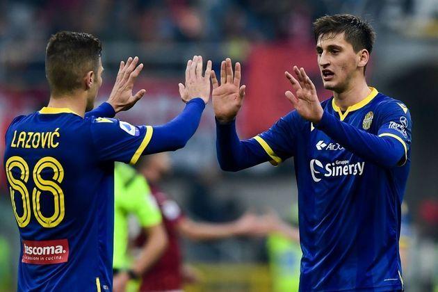 """MORNO - De acordo com a """"Sky Sport"""", a Inter de Milão quer contratar o zagueiro do Verona, Marash Kumbulla. Ele é avaliado em 30 milhões de euros (R$ 180 milhões)."""