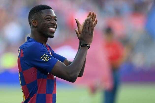 """MORNO - De acordo com o """"Sky Sports Italia"""", o Liverpool, assim como a Juventus, estaria disposto a ter o francês Dembelé, do Barcelona, no elenco por empréstimo, mas com uma opção de compra ao final do contrato."""