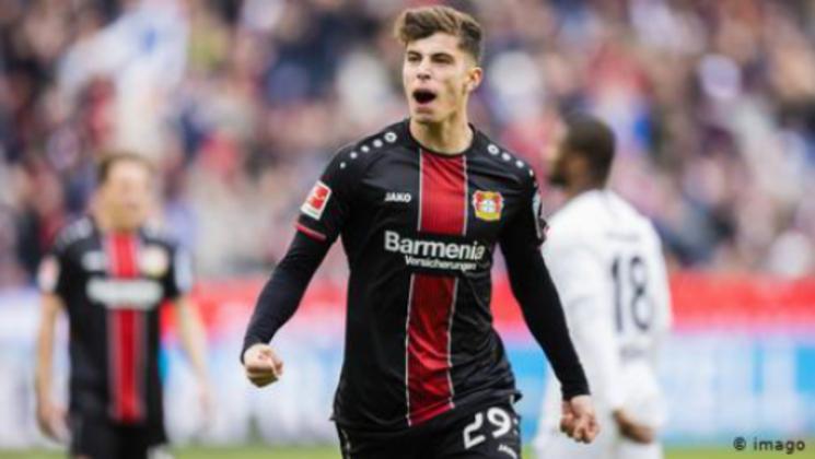 """MORNO - Kai Havertz parece ter optado pelo Real Madrid como seu futuro clube, segundo o portal """"Sportbuzzer"""". O gigante espanhol já teve uma oferta recusada e o Bayer Leverkusen quer algo em torno dos 100 milhões de euros (R$ 577 milhões)."""