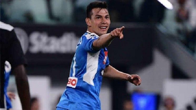 MORNO - O Manchester United está de olho na contratação do meia Lozano, que está no Napoli, segundo o 'Corriere dello Sport'. Arsenal, Everton e Tottenham também estão interessados no jogador.