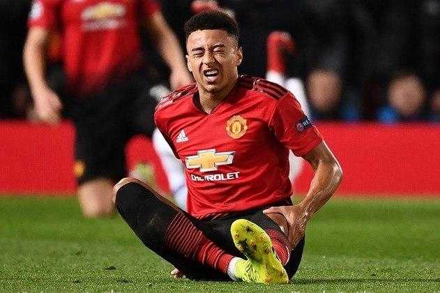 """MORNO - O Manchester United está disposto a vender o meio-campista Jesse Lingard na próxima temporada, de acordo com o """"The Times"""". O atleta de 27 anos  já interessa Roma, Borussia Monchengladbach e Newcastle."""