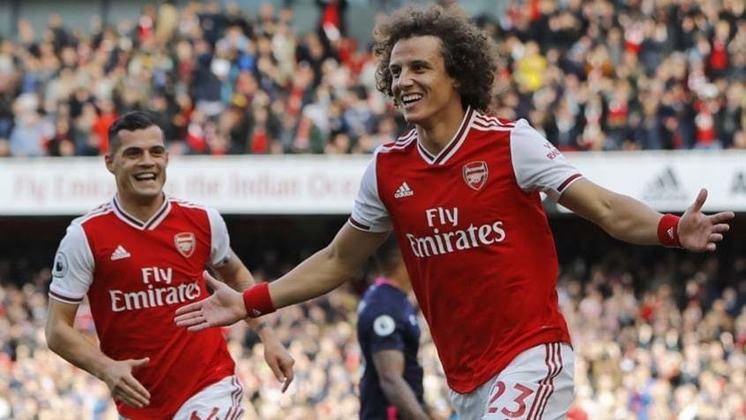 MORNO - O zagueiro David Luiz, atualmente no Arsenal, da Inglaterra, concedeu entrevista à