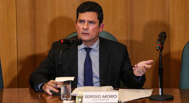 Sérgio Moro concedeu entrevista nesta terça (6)