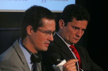 Site divulgou troca de conversas entre Moro e Dallagnol