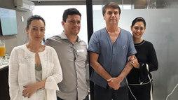 Sergio Moro visita Bolsonaro no hospital e afirma: 'O homem é forte'  (Sergio Moro/Twitter)