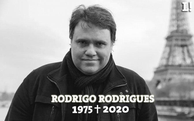 Morreu nesta terça-feira, devido complicações pelo novo coronavírus, o jornalista Rodrigo Rodrigues, de 45 anos, apresentador do 'Troca de Passes', do SporTV. O LANCE! relembra alguns momentos marcantes da carreira dessa grande personalidade do jornalismo brasileiro.