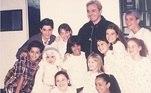 Carla Diaz publicou uma lembrança com parte do elenco de Chiquititas