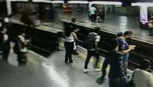 Polícia prende homem que atirou companheira em trilho do Metrô