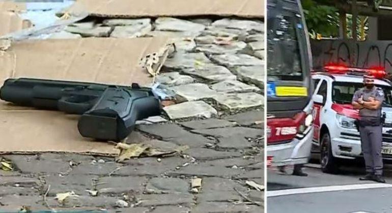 PM reagiu a tentativa de assalto e matou suspeito nos Campos Elíseos, no centro de SP