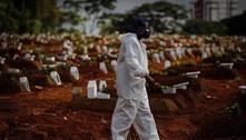 Brasil tem quase 212 mil mortes além do esperado de janeiro a abril
