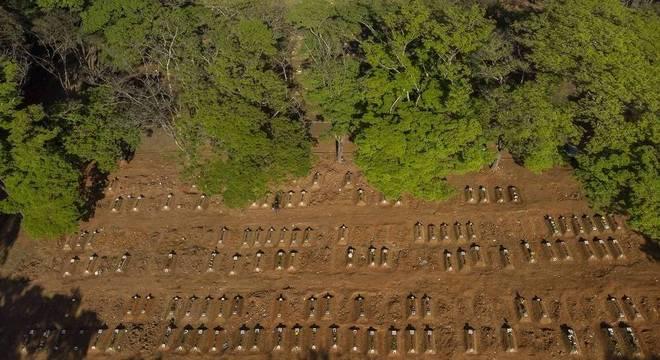 Número de mortos por covid-19 dobrou no Brasil em 50 dias