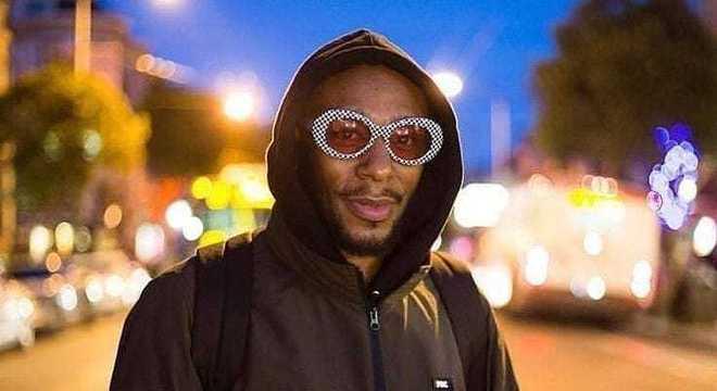 O rapper yasiin bey, também conhecido como Mos Def, faz show em SP