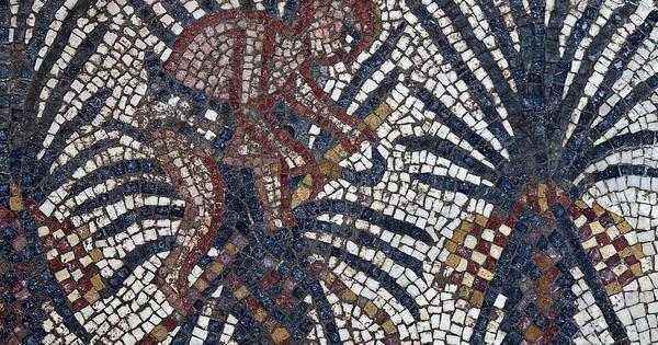 Mosaico sobre passagem do êxodo do Egito é descoberto em Israel