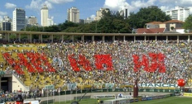 Mosaico Palmeiras Corinthians 2011