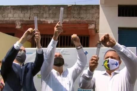 Ministro da Saúde participou da soltura dos mosquitos