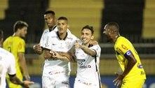No auge da pandemia, Corinthians vence. CBF e FPF celebram