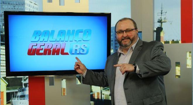 Alexandre Mota apresenta o Balanço Geral RS