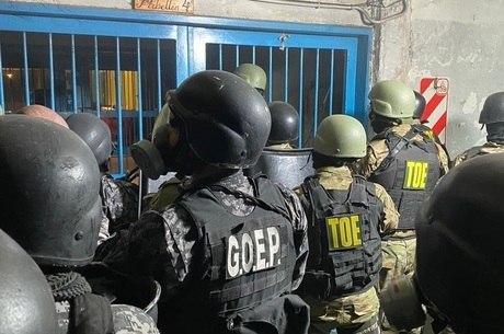 Detentos protestaram por medidas de prevenção de doença
