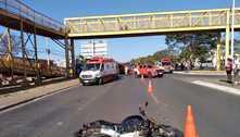 Idosa morre atropelada por moto na Avenida Hélio Prates