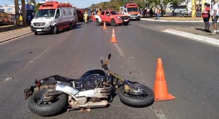 Um terços das mortes no trânsito envolve motociclistas