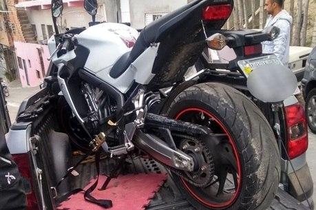 Moto roubada na rodovia foi recuperada e devolvida