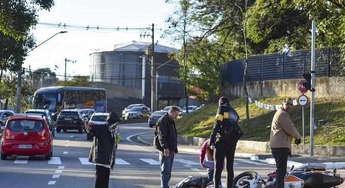 Das 38.081 indenizações pagas por acidentes em 2020, 28.340 foram com motos