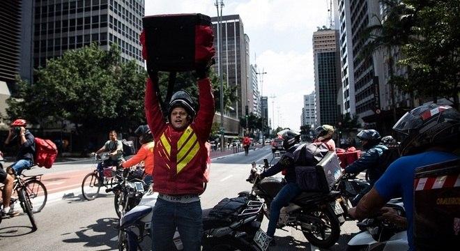 'A sociedade não gosta de motoboy e depende inteiramente da classe'