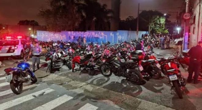Motocicletas foram apreendidas na região da Vila Conceição, em Diadema