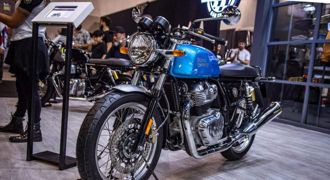 Motociclistas já podem fazer pré-compra dos novos modelos da Royal Enfield / Foto: Fabiano Godoy/MinutoMotor