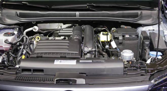 Motor do novo Polo GTS, apresentado no Salão do Automóvel