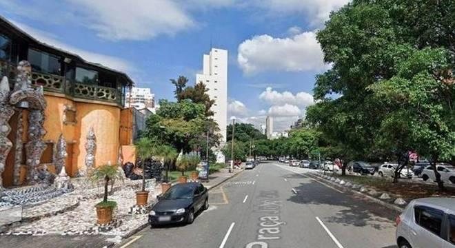 Estudante solicitou o serviço de transporte em Pinheiros, na zona oeste de SP