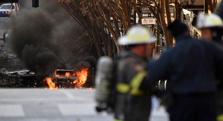 Explosão causou estragos em 40 prédios, feriu 3 pessoas e matou o autor