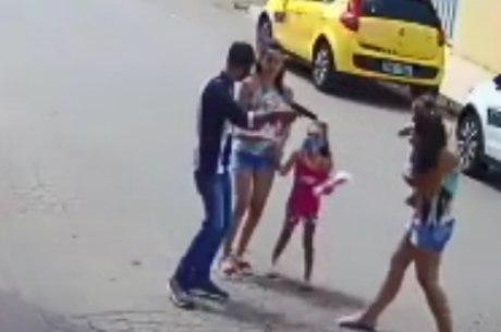Imagens mostram assalto em Igarapé, na Grande BH