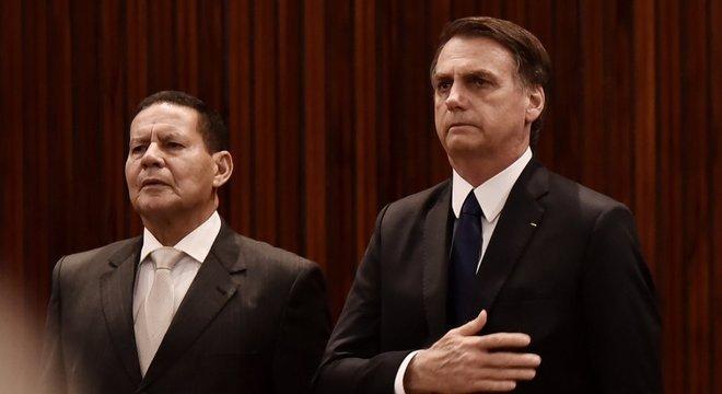 O vice-presidente, o general da reserva Hamilton Mourão, faz parte da ala militar do governo