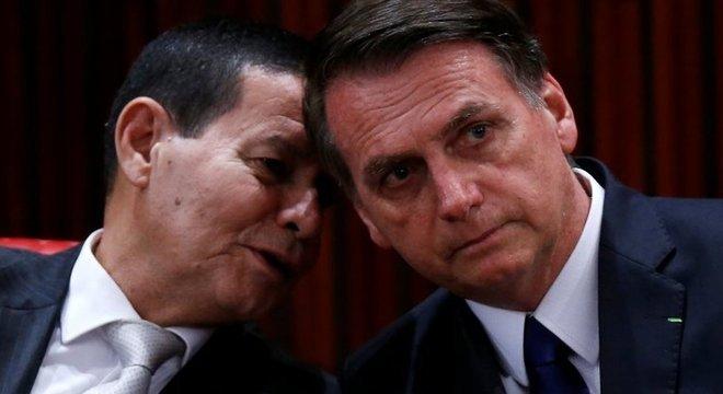 Mourão diz que 'não pensa' em se candidatar à presidência após governo Bolsonaro