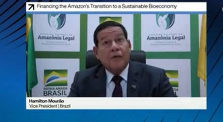 Mourão representou o Brasil em Fórum de Davos
