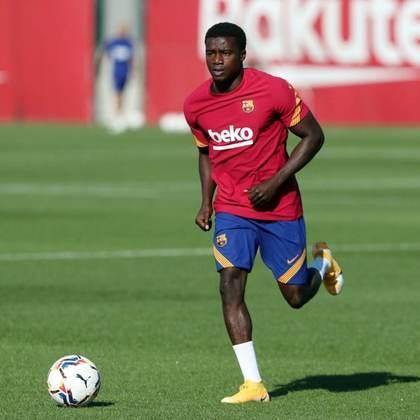 Moussa Wagué - Seis jogos pelo Barcelona, sem gols e sem assistências.