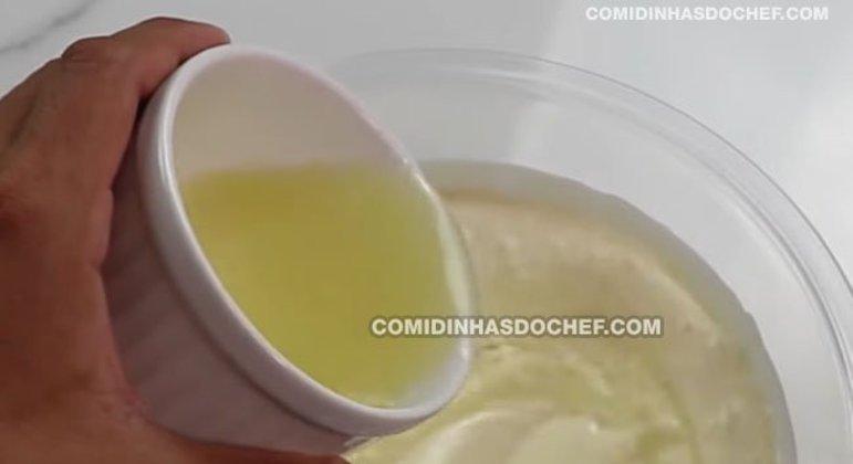 Mousse de Limão Natural