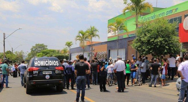 Aluno de escola particular em Goiânia atirou contra colegas de classe durante horário de aula | Foto: Geovanna Cristina/Futura Press