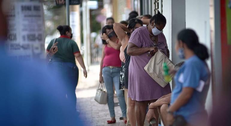 O Estado de São Paulo voltou à fase vermelha para tentar contar o avanço da pandemia